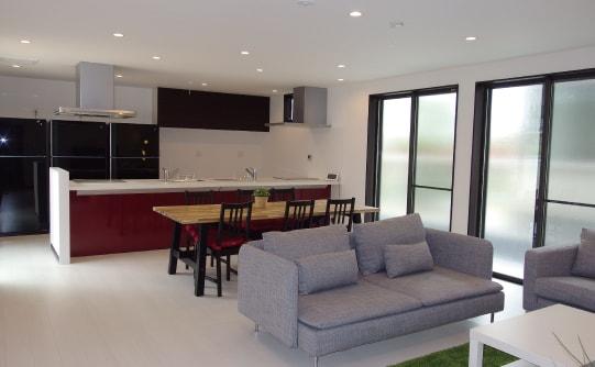シェアハウスきくやの共同部分・個室のデザイン