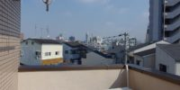 生野区鶴橋の駅まで徒歩5分の女性専用シェアハウス 屋上