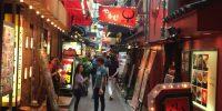 生野区鶴橋の駅まで徒歩5分の女性専用シェアハウス 飲食店多数