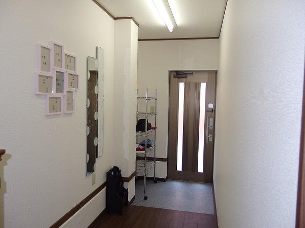 生野区鶴橋の駅まで徒歩5分の女性専用シェアハウス 二重ロック玄関