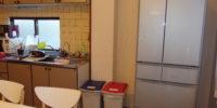 生野区鶴橋の駅まで徒歩5分の女性専用シェアハウス 冷蔵庫