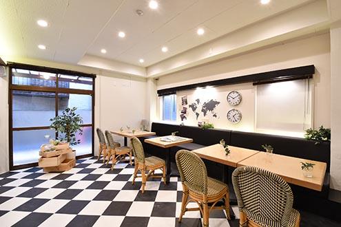 大阪梅田駅電車7分、西淀川区姫島駅徒歩2分の便利なシェアハウス