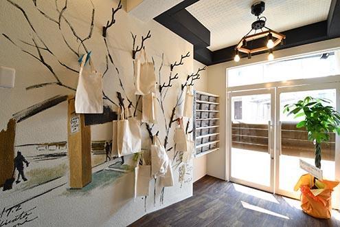 大阪梅田駅電車7分、西淀川区姫島駅徒歩2分のおしゃれなデザイナーズシェアハウス